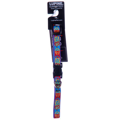 "Lupine 1/2"" W Small Dog Collars (8""-12""L)"