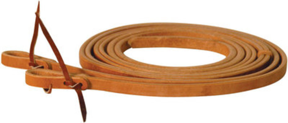 "Hand Rubbed Split Reins, ½"" x 8'"
