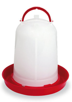 Economy Plastic Chicken Waterer, 1.5 Liters