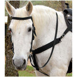 Nylon Draft Bridle w/ Bit & Reins