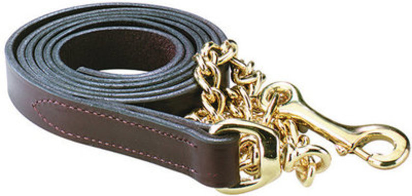 "Perri's Leather Matching 1"" Lead"