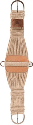 Item No.: OTC-JVET-121SR.  100% Mohair Lonestar Roper Cinch, Natural, Animal: Horse Category: Western, Sub Category: Western Cinches & Accessories-Cinch ,      Brand: Mustang Mfg     Type: Cinch     M