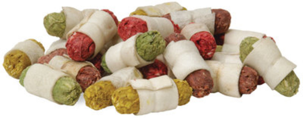 Rawhide Mini Cocktail Rolls, 25 ct