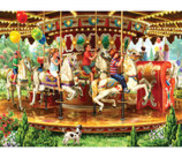 "1000 piece Jigsaw Puzzle ""Carousel Ride"""