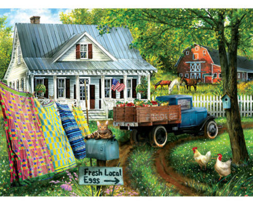 "1000 piece Jigsaw Puzzle ""Countryside Living"""