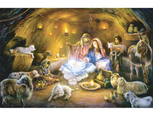 """1000 piece Jigsaw Puzzle """"No Room at the Inn"""""""