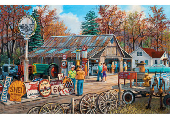 """1000 piece Jigsaw Puzzle """"Signs of the Times"""""""