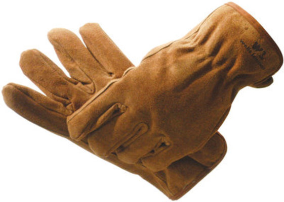 #1063 Cold Weather Suede Gloves, X-Large
