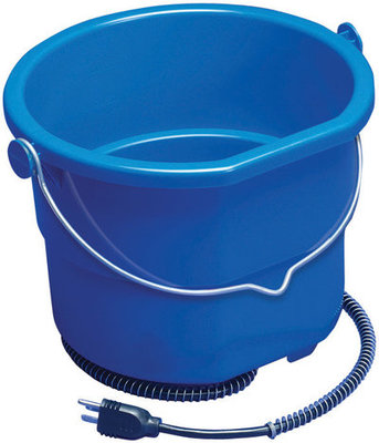2.5 Gallon Heated Flat Bucket