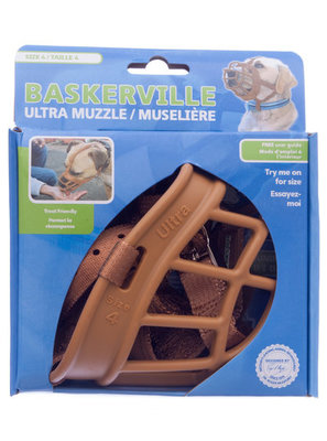 Size 2 Tan Baskerville Ultra Muzzle [12 Days]