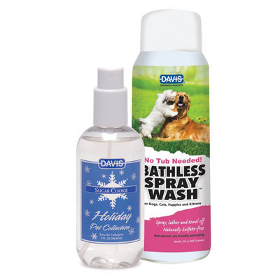 Davis Bathless Spray Wash [12 Days]