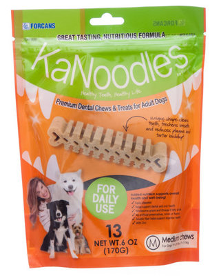 KaNoodles Medium Dental Chews [12 Days of Xmas]