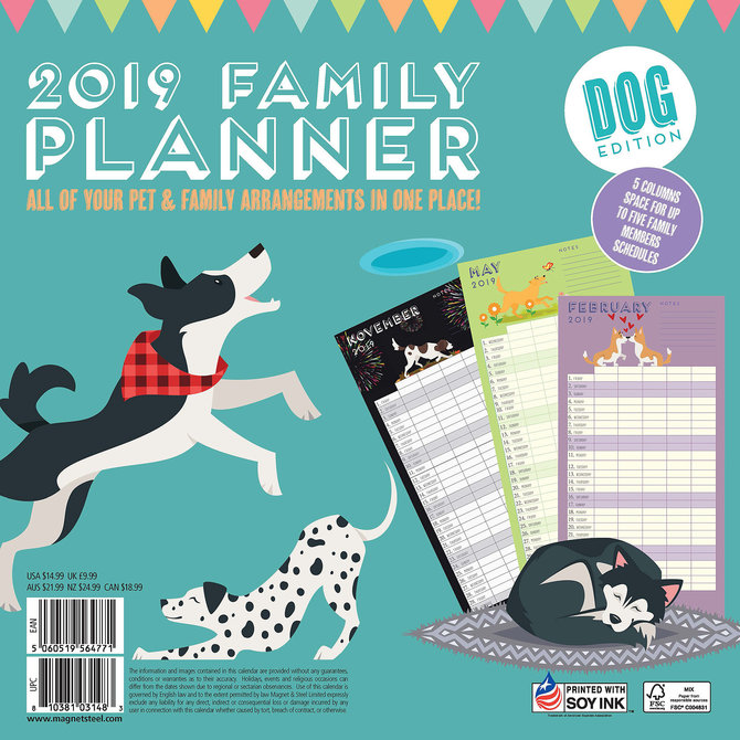 12 month family plans calendar jeffers pet