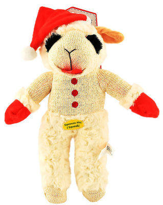 13 Standing Lamb Chop with Santa Hat