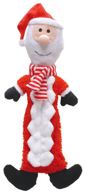 Plush Christmas Bottle Toy, Santa