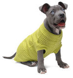 Jeffers Solid Color Knit Dog Sweaters,  14""