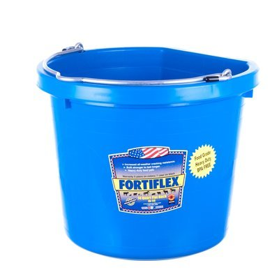 14 qt Flatback Bucket (3.5 gallon)