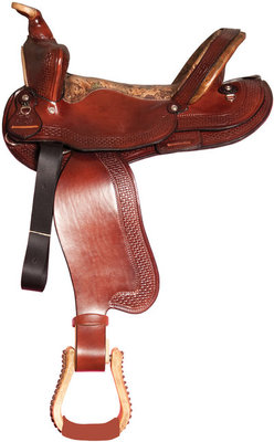 Dr. J® Brown/Camo Trail Saddle