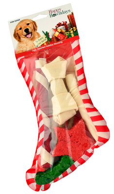 American Beefhide Christmas Stocking for Dogs