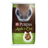 Purina Apple & Oats Horse Treats, 15 lb
