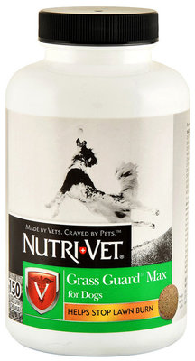 Nutri-Vet Grass Guard Max for Dogs Liver Flavor Chewables