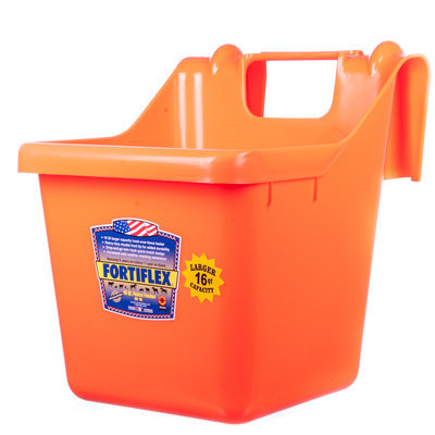 Fortiflex Hook Over Fence Feeder, 16 qt
