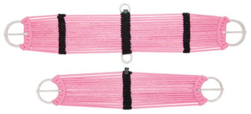 Weaver 17 Strand Pink Rayon Cinch, Horse