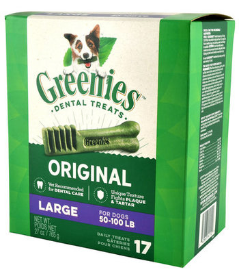 17 count Greenies Pantry Pack (Large)
