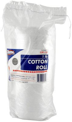 1 lb Cotton Roll, 12W