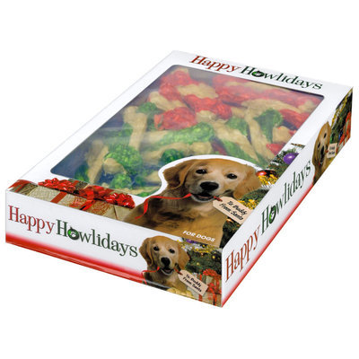 "4"" Holiday Munchy Bones, 40ct"