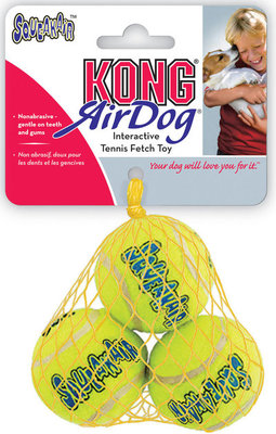 "KONG Squeakair Tennis Ball, 2"" Small"