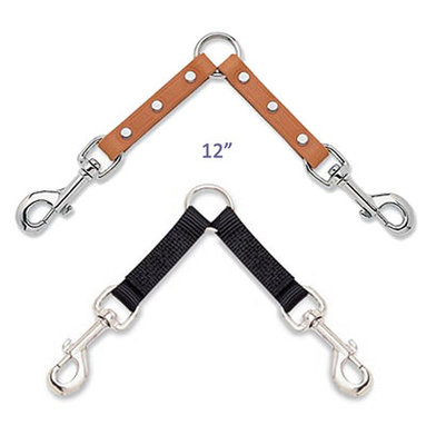 2-Dog Coupler Leash Attachment