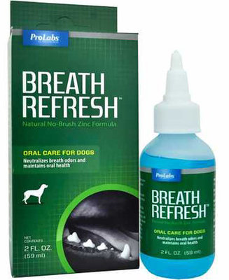 Breath ReFresh Natural No-Brush Gel for Dogs, 2 oz