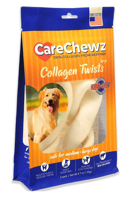 2 Pack CareChewz Collagen Twists