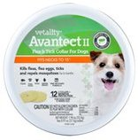 2-pk Vetality Avantect II Flea & Tick Collar for Dogs