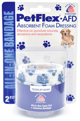 "2"" PetFlex Absorbent Foam Dressing"