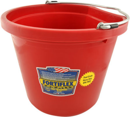 Fortiflex Flatback Bucket, 5 Gallon