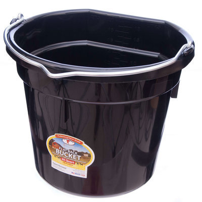 Little Giant 20 Quart Flatback Bucket