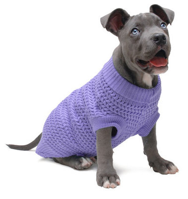 Jeffers Solid Color Knit Dog Sweaters, 24""