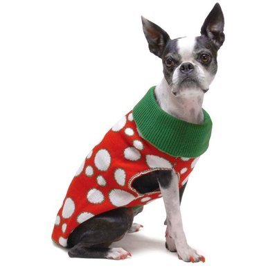 Polka Dot Dog Sweaters, 28""