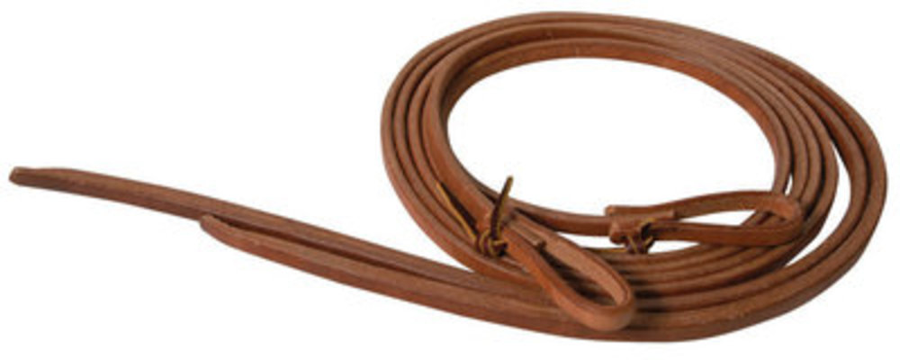 "Heavy Harness Split Reins, 3/4"" x 7'"