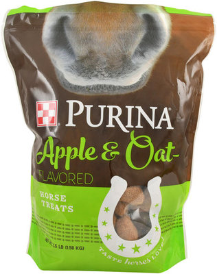 Purina Apple & Oats Horse Treats, 3.5 lb