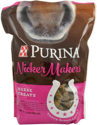 Purina Nicker Makers Horse Treats, 3.5 lb