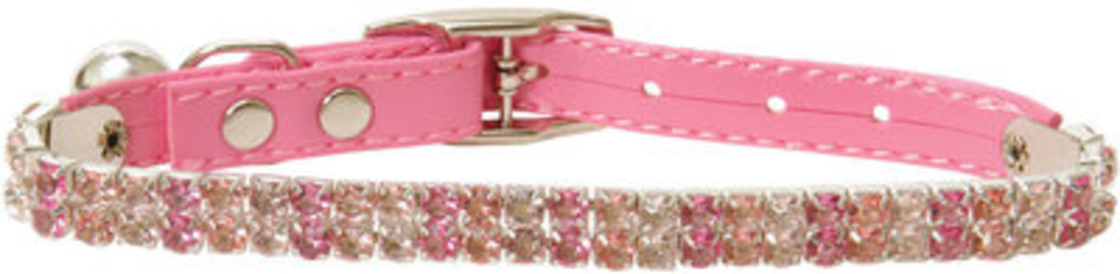 Aristocat Pink Rhinestone Cat Collar