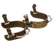 3 Crosses Bumper Spur, pair
