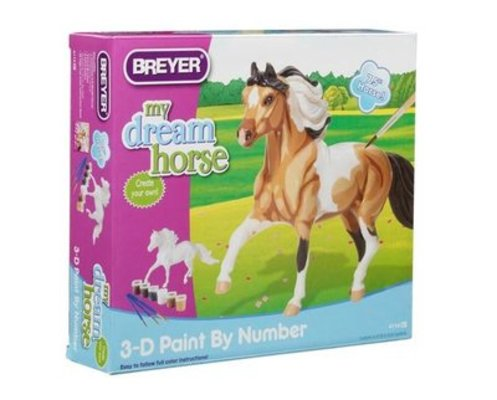 3-D Paint-by-Number Breyer Horse
