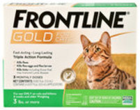 Frontline Gold for Cats, 3-pk