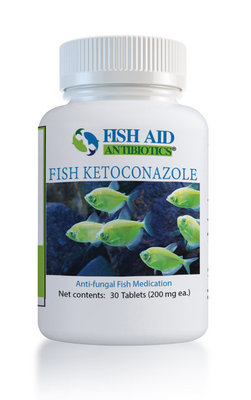 Fish Aid 200 mg Ketoconazole, 30 Count