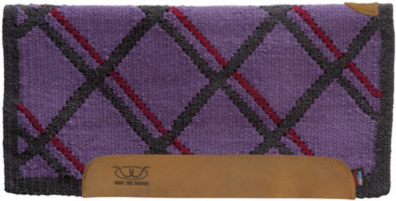Lattice Pattern Memory Foam Saddle Pad