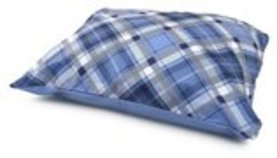 "34"" x 26"" GreenSpring Plaid Pillow Bed, Assorted"